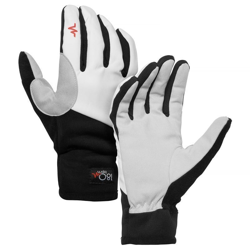 180 bpm Cross Country Ski Gloves 6 White