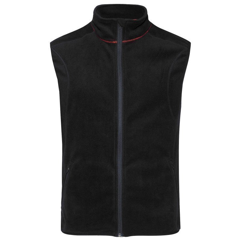180 bpm Men's Fleece Vest XXL Black