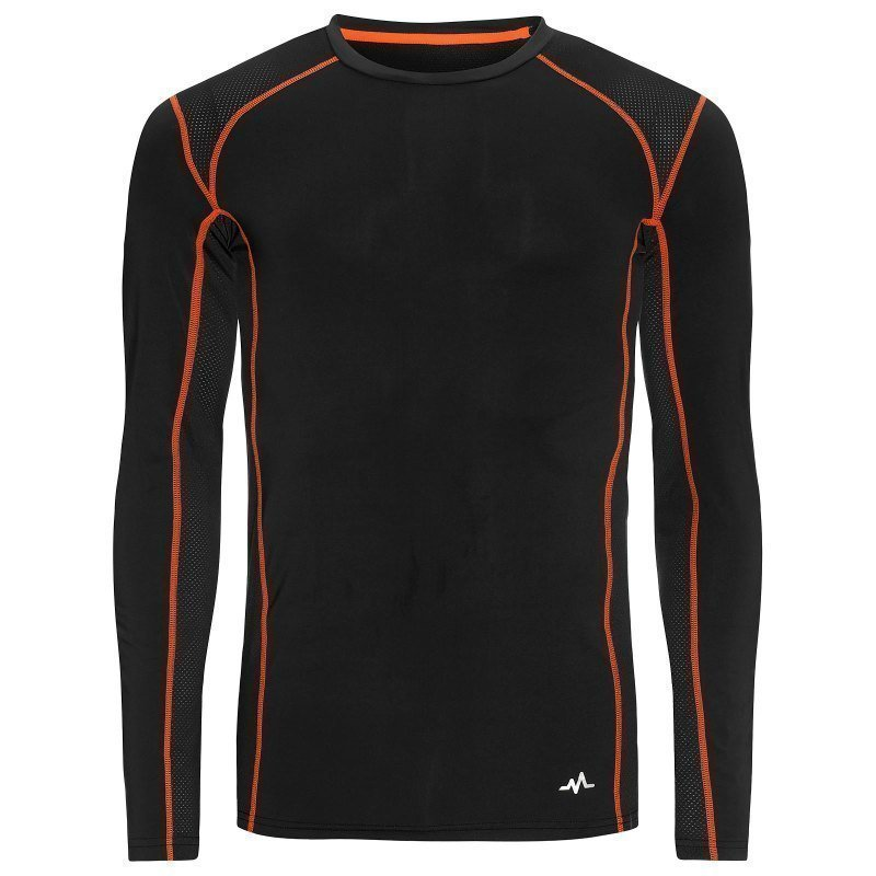 180 bpm Men's Tech Roundneck S Dark Navy/Flame