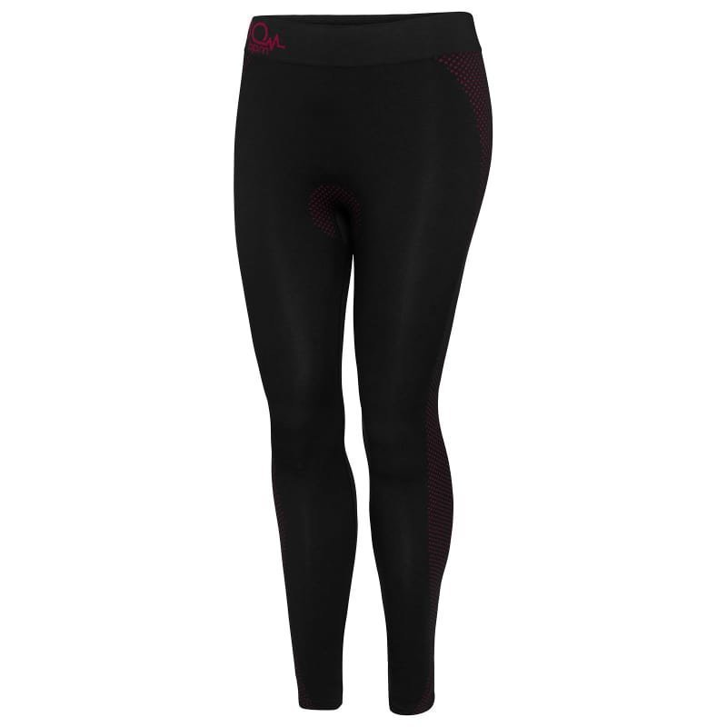 180 bpm Seamless Tech Women's Pant XS/S Black / Windsor Wine