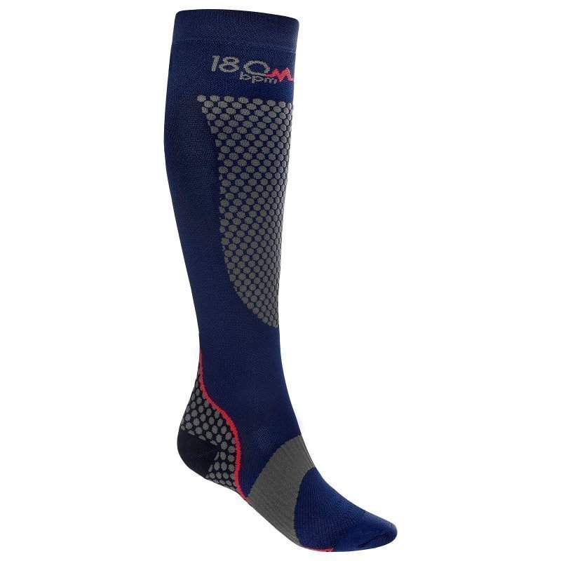 180 bpm Trailrun Compression Socks 36-38 Blue