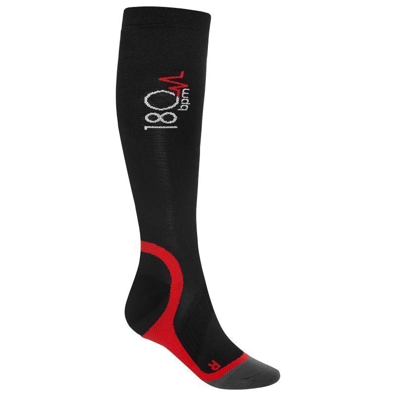 180 bpm Training Compression Socks 47+ Black