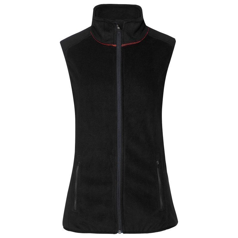 180 bpm Women's Fleece Vest XL Black
