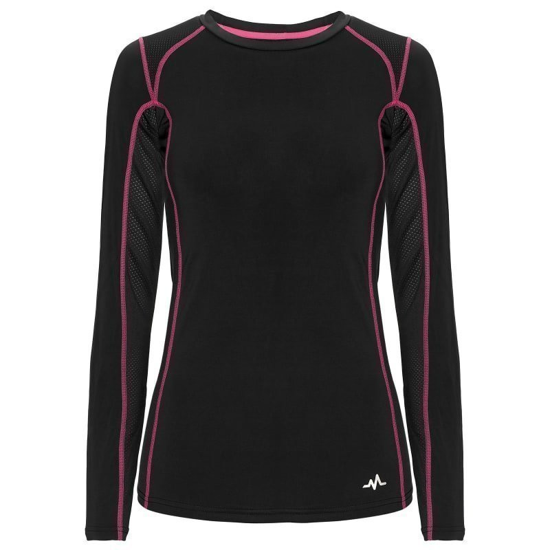 180 bpm Women's Tech Roundneck S Dark Navy/Beetroot Purple