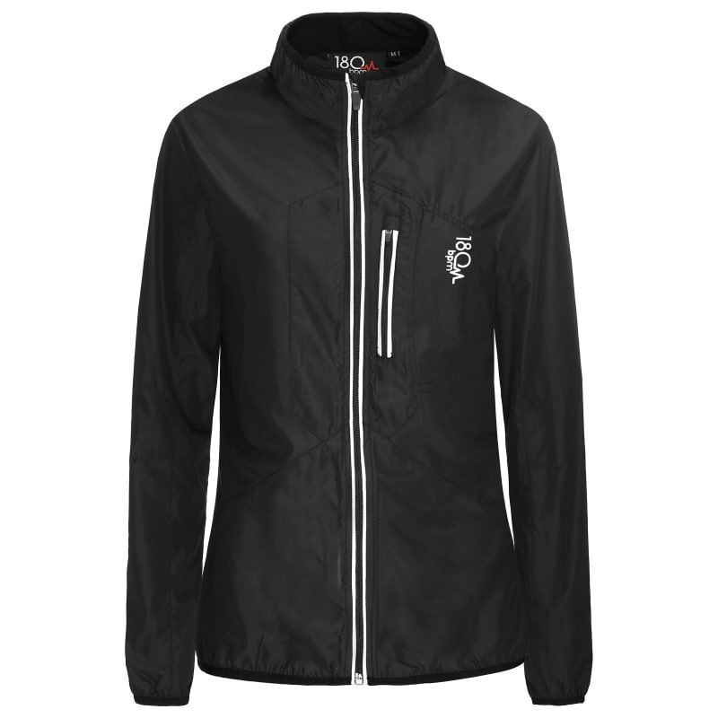 180 bpm Women's XC Run Jacket L Black