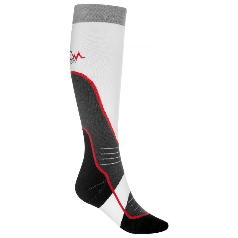 180 bpm XC Ski Compression Socks 47+ White