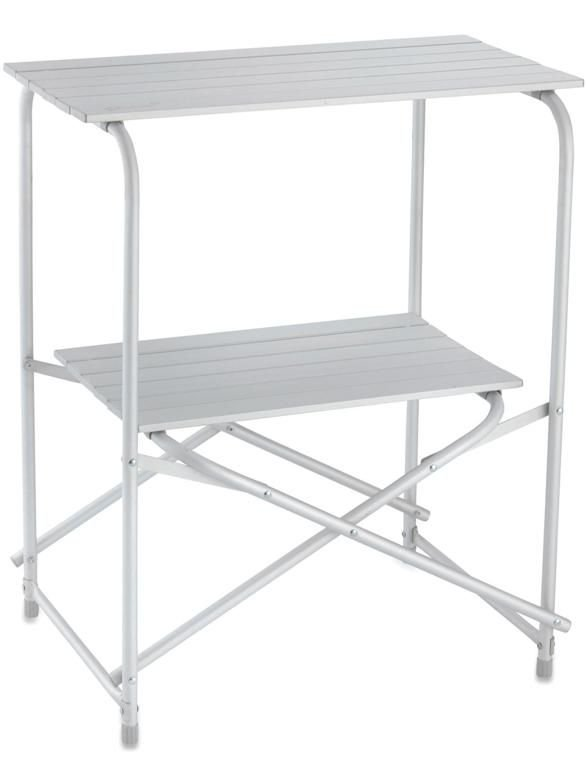 2 Tier aluminium kitchen stand