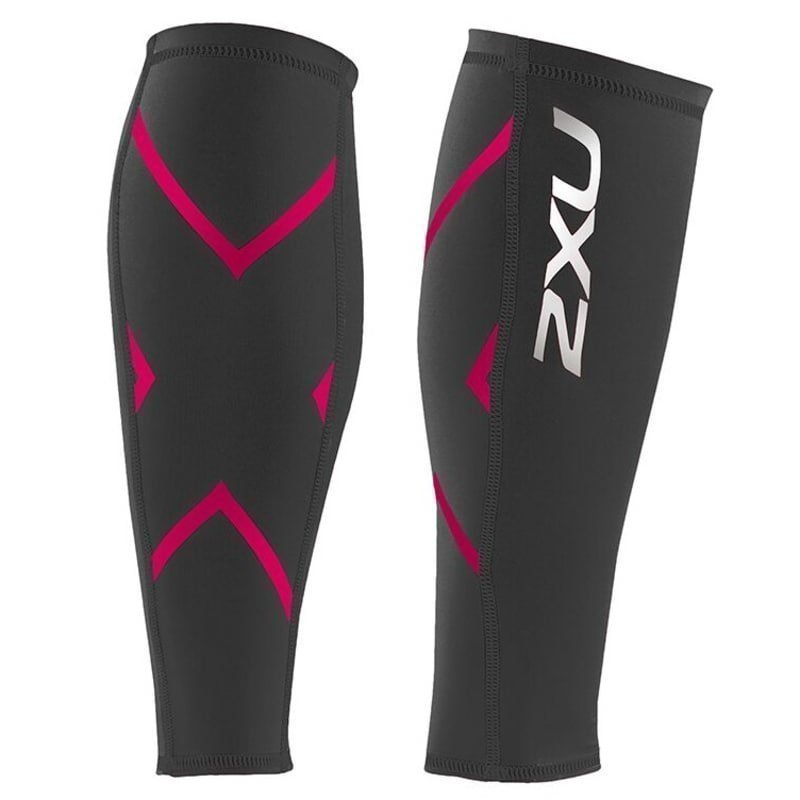 2XU Compression Calf Guard S Ink/Cherry Pink