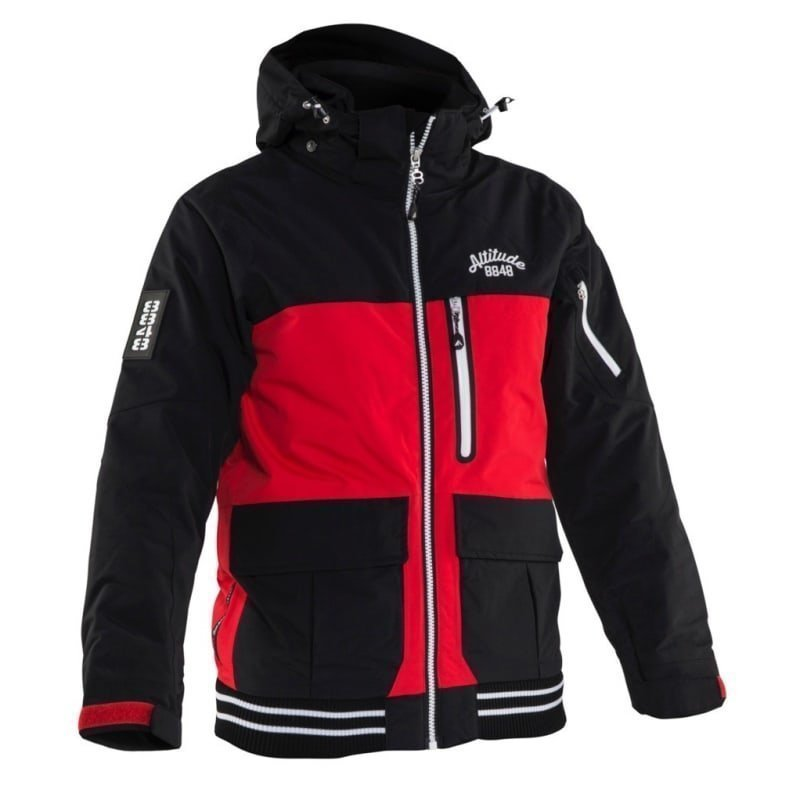 8848 Altitude Ozy Jr Jacket 120 Red