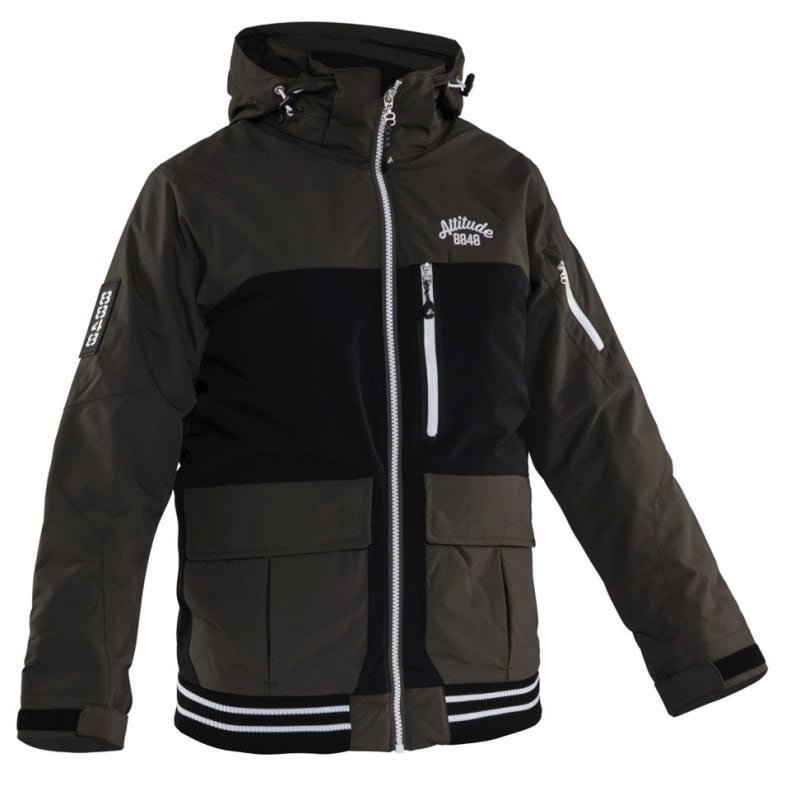8848 Altitude Ozy Jr Jacket 140 Mud