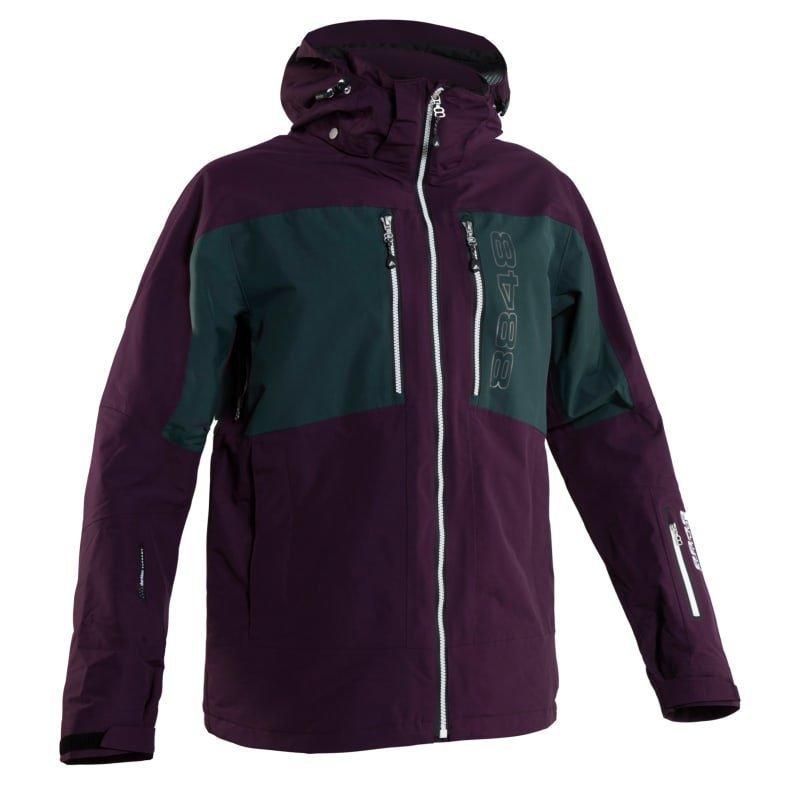 8848 Altitude Vulpine Shell Jacket S Burgundy