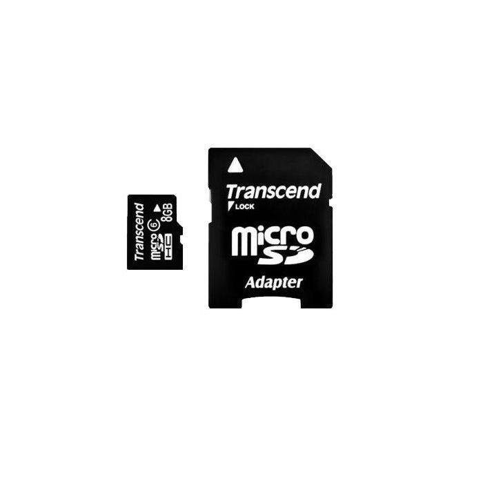8GB microSD -muistikortti CL10