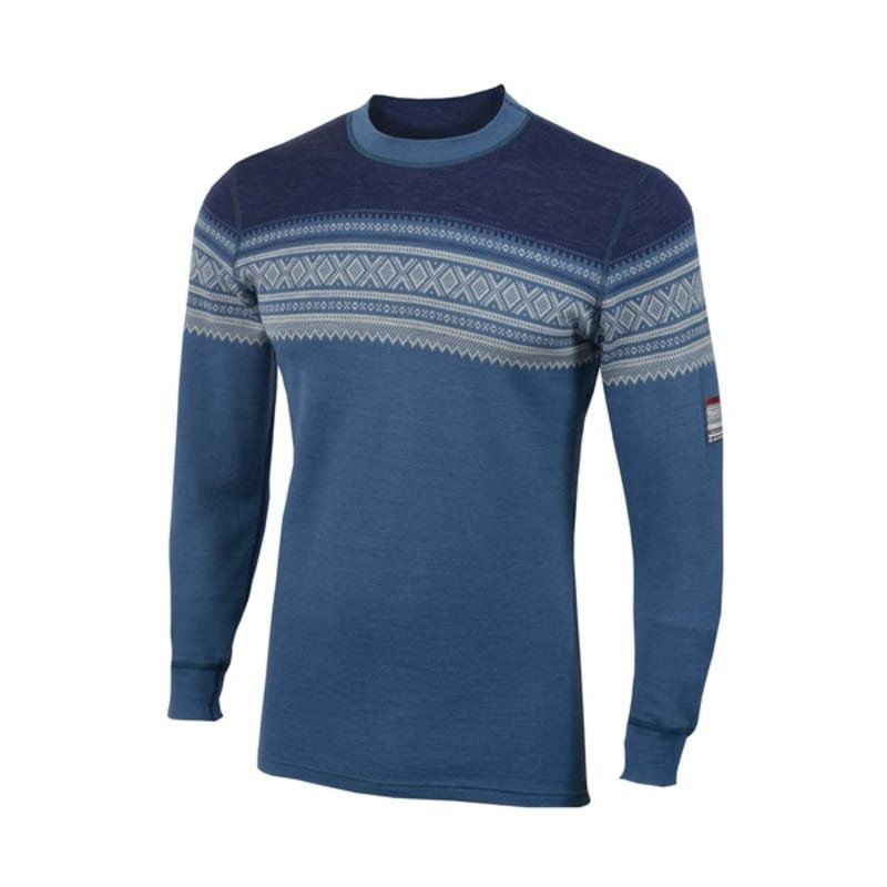 Aclima De Marius Crew Neck Man XS COASTALFJORD/NATURE/PATRIOT BL