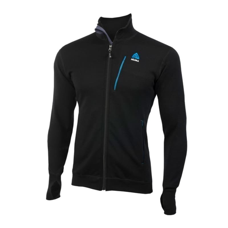 Aclima Doublewool Jacket Man L JET BLACK (SKY DIVER/PERISCOPE