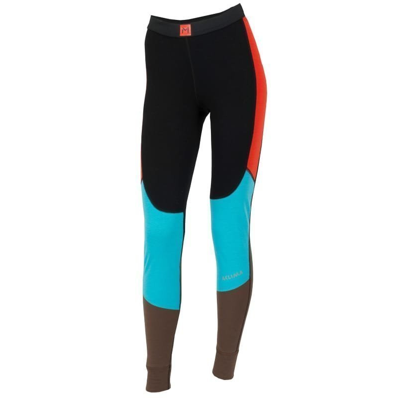 Aclima Lars Monsen Anárjohka Longs Woman XS Jet Black/Poinciana/Blue
