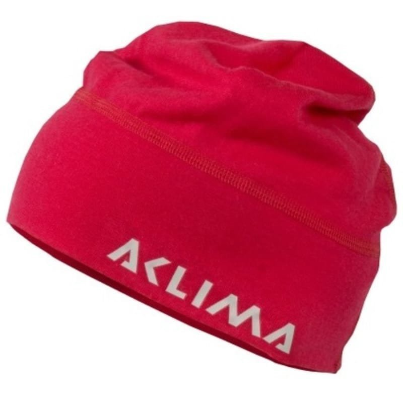 Aclima Lightwool Beanie 1SIZE Raspberry