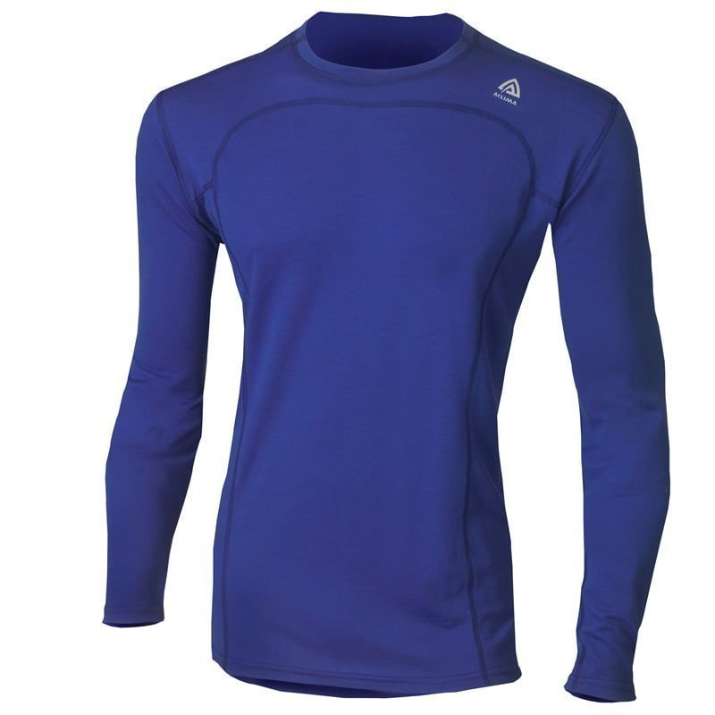Aclima Lightwool Crew Neck Man M Dazzling Blue