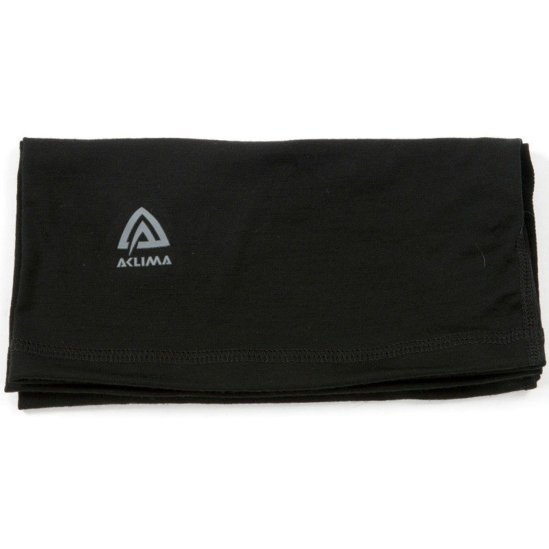 Aclima Lightwool Headover Unisex 1SIZE Jet Black