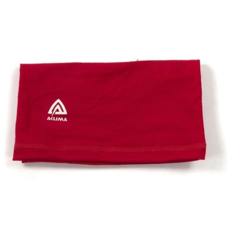 Aclima Lightwool Headover Unisex 1SIZE Persian Red