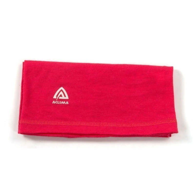 Aclima Lightwool Headover Unisex 1SIZE Raspberry