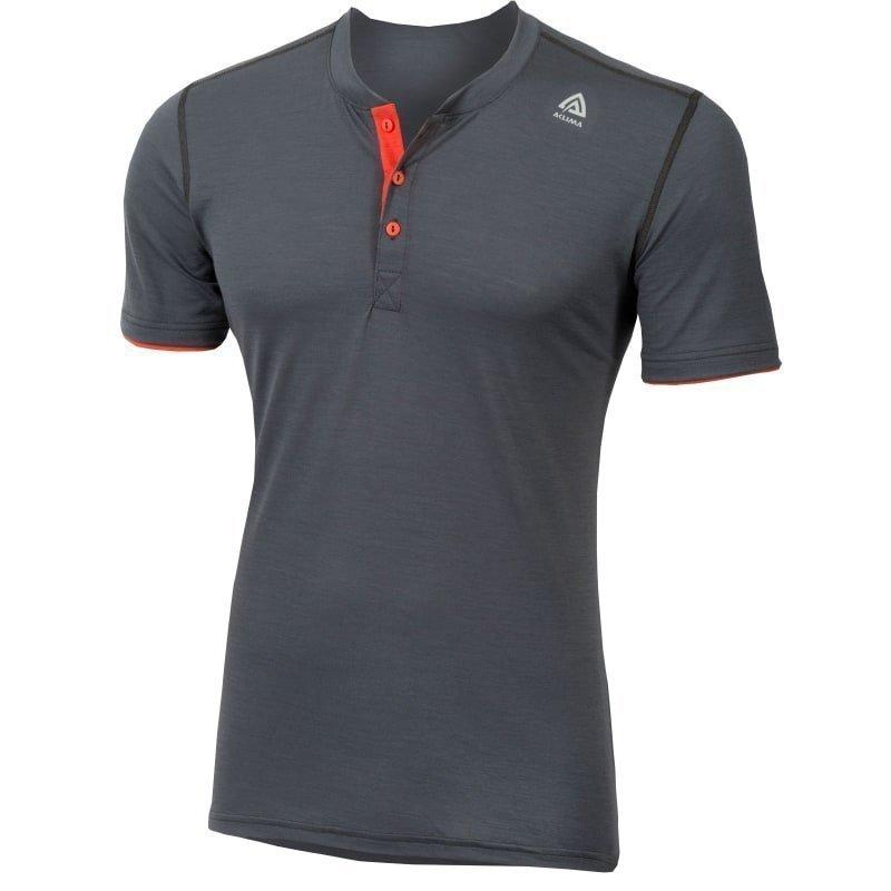 Aclima Lightwool Henley Shirt Man XS IRONGATE/POINCIANA