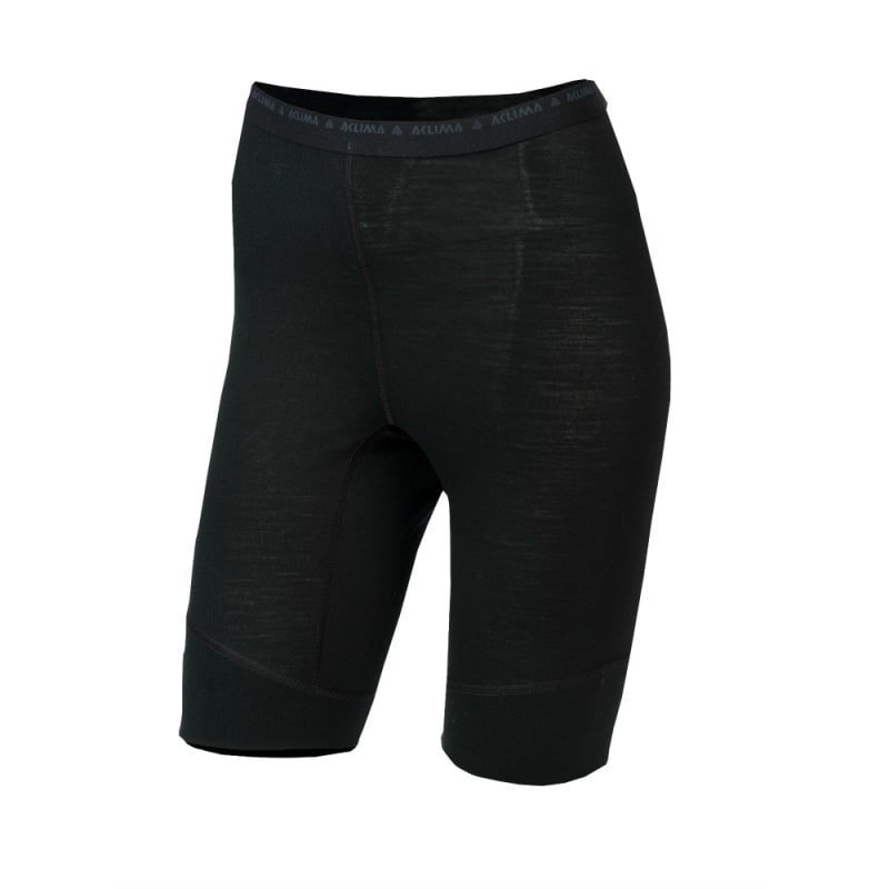 Aclima Lightwool Shorts Long Woman XS Jet Black