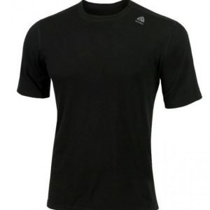 Aclima Lightwool T-Shirt Classic Musta M