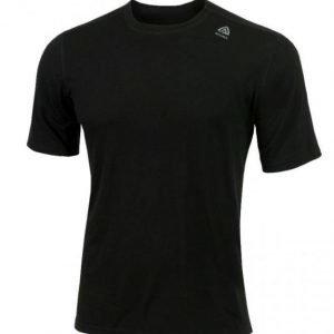 Aclima Lightwool T-Shirt Classic Musta XL