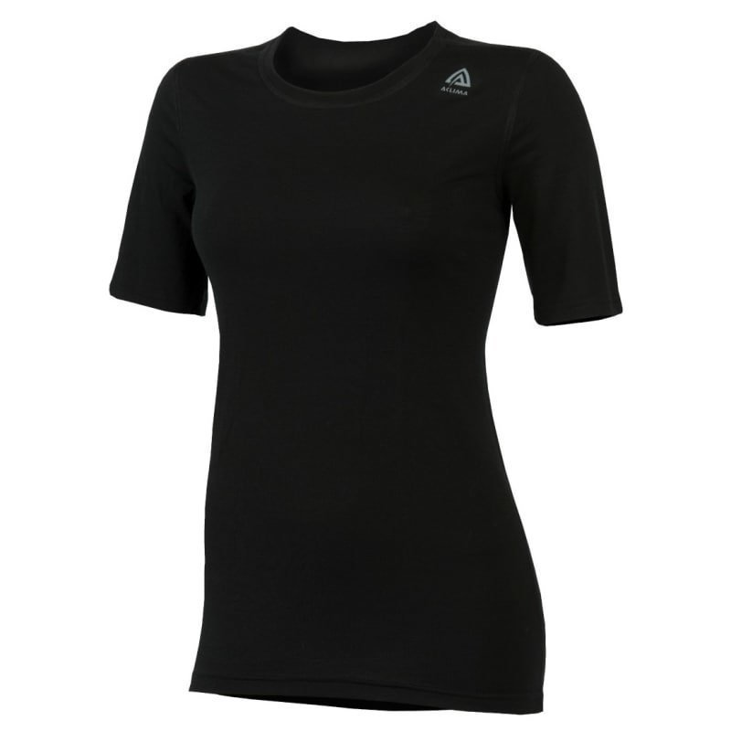 Aclima Lightwool T-Shirt Classic Woman XS Jet Black