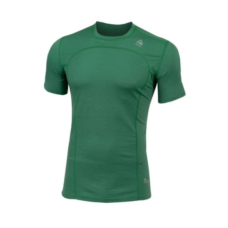 Aclima Lightwool T-Shirt Man L Deep Grass Green