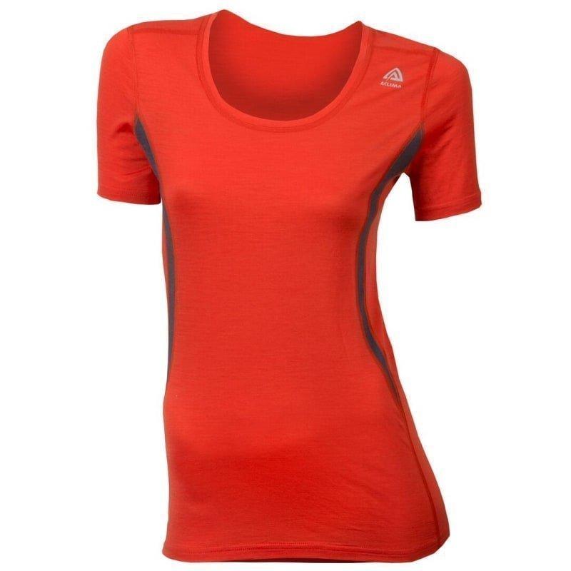 Aclima Lightwool T-Shirt Round Neck S POINCIANA/IRON GATE