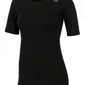 Aclima Lightwool Women's T-Shirt Classic Musta XL