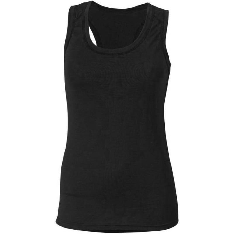 Aclima Lightwool Wrestler Shirt Woman L Jet Black