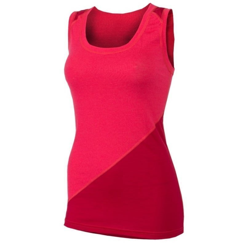 Aclima Lightwool Wrestler Shirt Woman L Raspberry/Persian Red