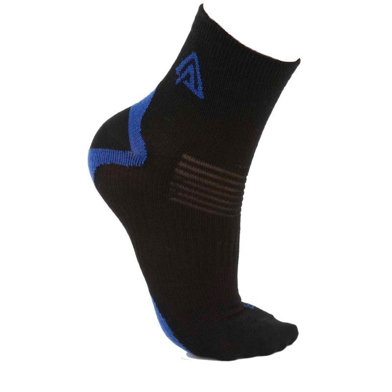 Aclima Running Socks 2-Pack 32-35 Dazzling Blue/Jet Black