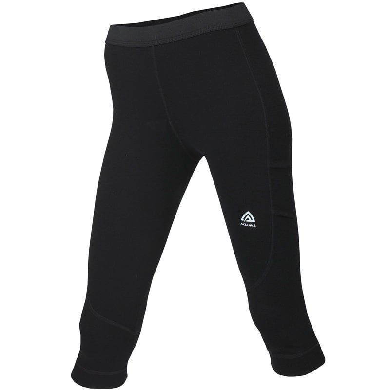 Aclima Warmwool 3/4 Longs Women's L Jet Black
