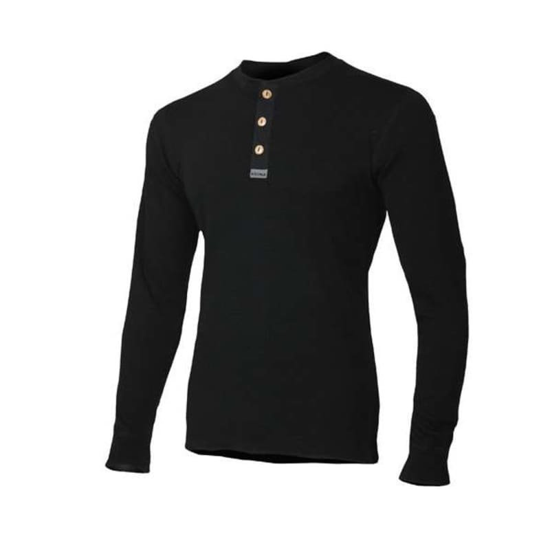 Aclima Warmwool Granddad Shirt XL Jet Black