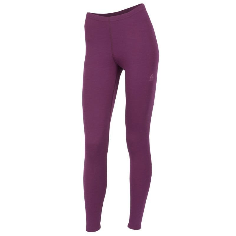 Aclima Warmwool Long Pants Women's S Grape Wine