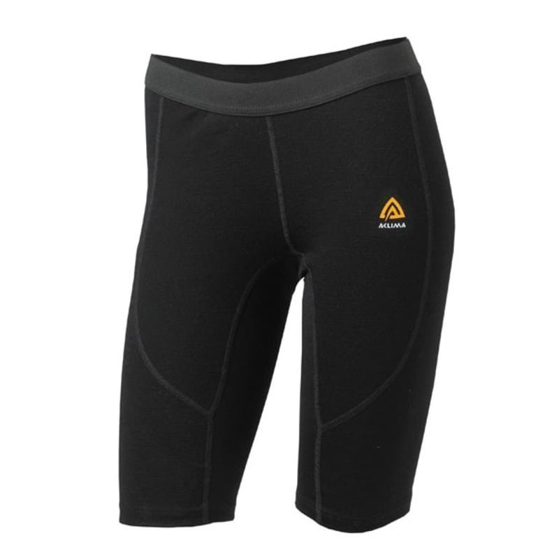 Aclima Warmwool Long Shorts Man S Jet Black