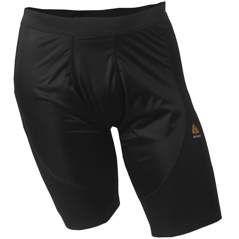 Aclima Warmwool Long Shorts Man XS Jet Black