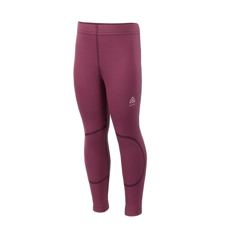 Aclima Warmwool Longs Kids 140 Damson