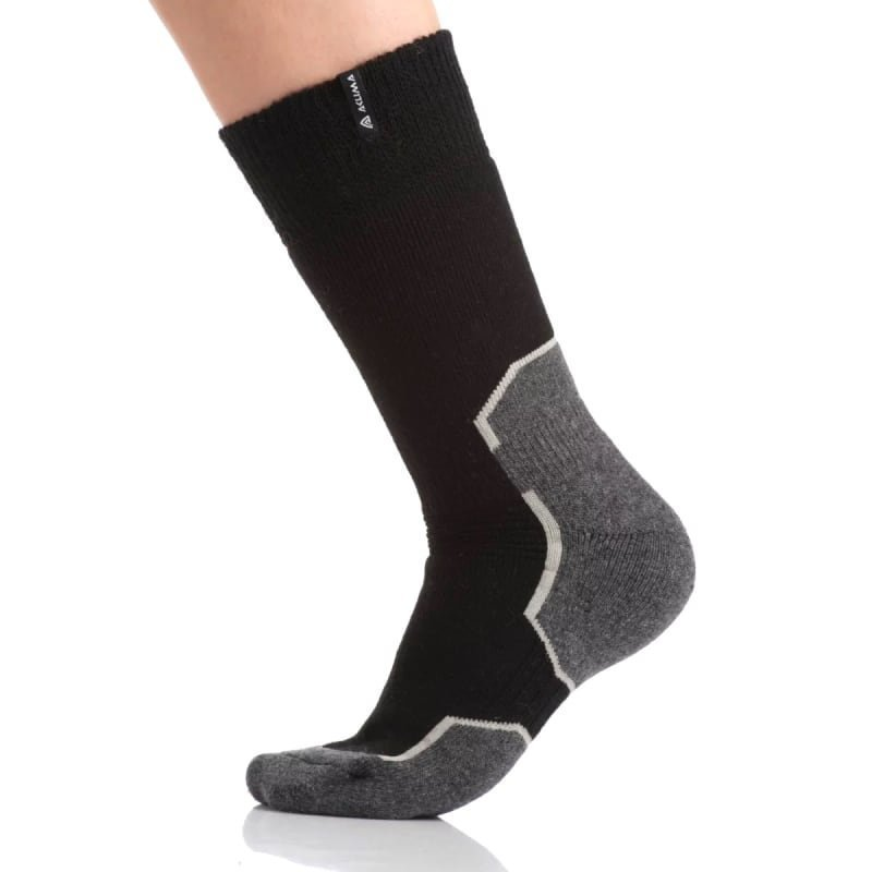 Aclima Warmwool Short Socks 44-48 Jet Black