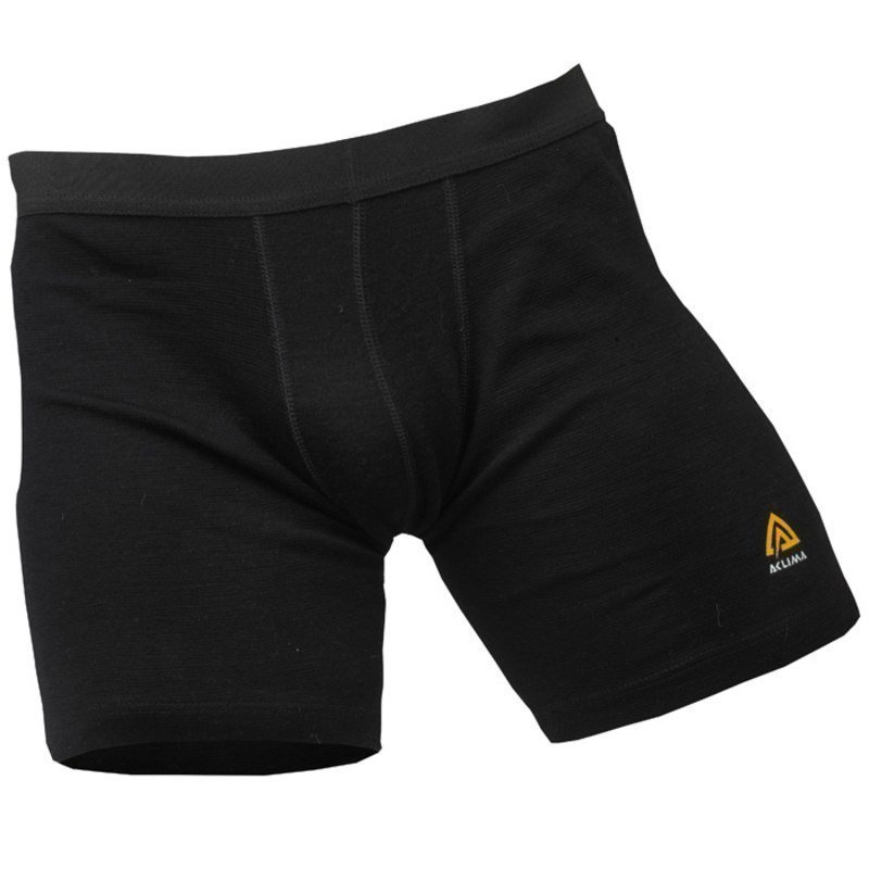 Aclima Warmwool Shorts Man L Jet Black