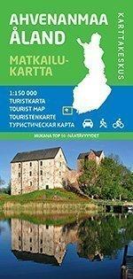 Ahvenanmaa 1:150 000 matkailukartta 2014