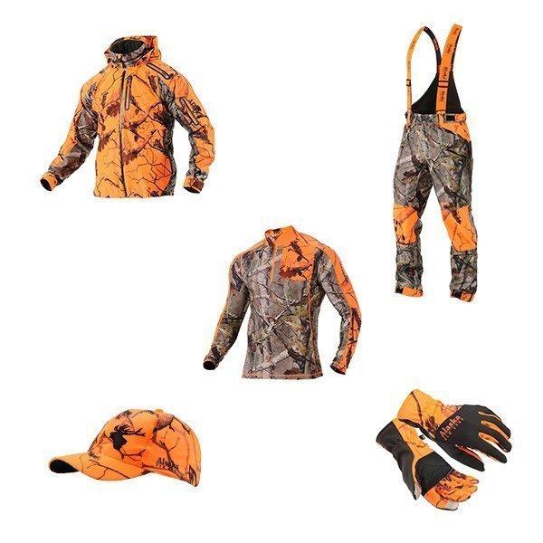 Alaska Blaze 3D Pro hirvimiehen paketti henkselihousuilla