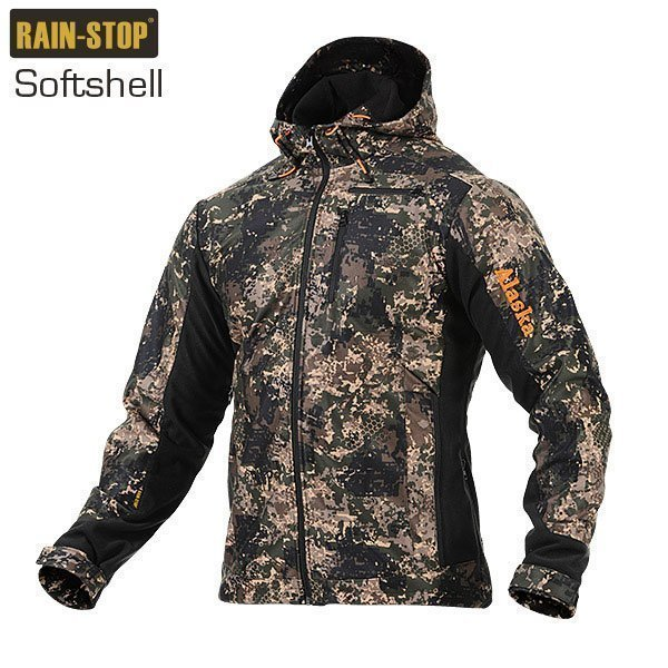 Alaska BlindTech Invisible Softshell-camotakki