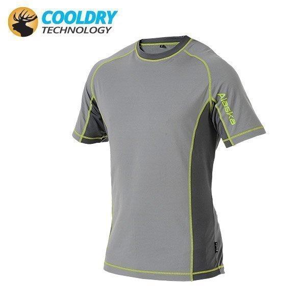 Alaska Cooldry 180G tekninen T-paita harmaa