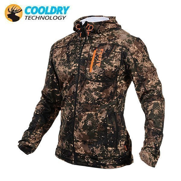 Alaska Tana Stretch Huppari BlindTech Invisible Camo