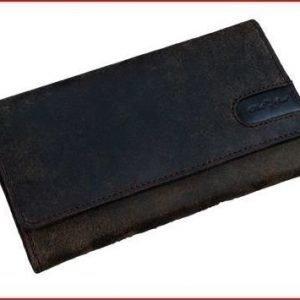 Alassio naisten lompakko tumman ruskea