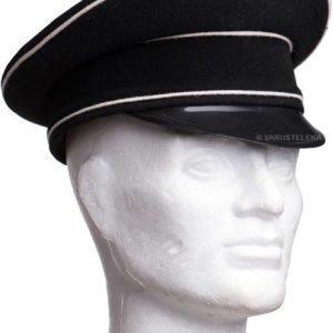 Allgemeine SS koppalakki musta repro